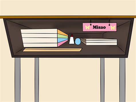 organize a desk how to clean and organize a school desk 6 steps