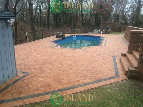pool patio pavers pool patio pavers island paving and masonry