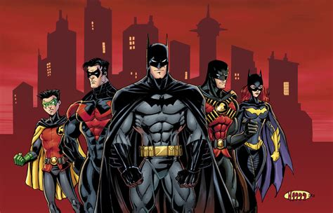 batman a in the family batman family colors by diecast75 on deviantart