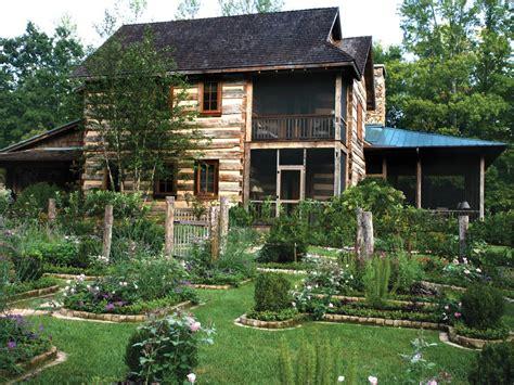 Log House Garden by Photos Hgtv