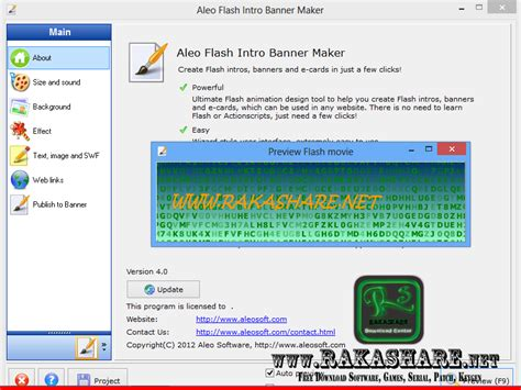 software membuat intro video aleo flash intro banner maker 4 0 full patch