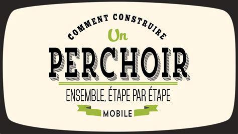 Mobile Plans by Comment Construire Un Perchoir Mobile Pour Poules Youtube