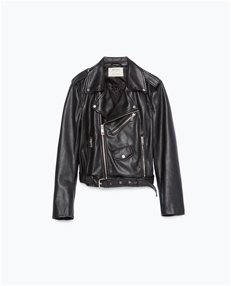 Buy Zara Gift Card Online - faux leather jacket jackets woman zara united states