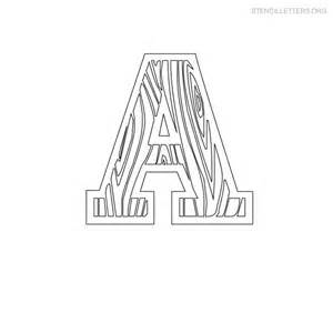 Wood Carving Letter Templates Letter Stencil For Wood Images