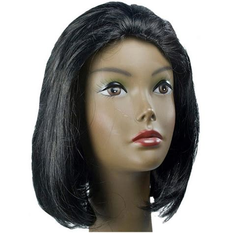 michelle obama straight human hair first lady wigs remy michelle obama bangs are a wig fashion wigs for black