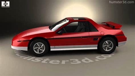 1984 pontiac fiero gt pontiac fiero gt 1984 3d model by humster3d