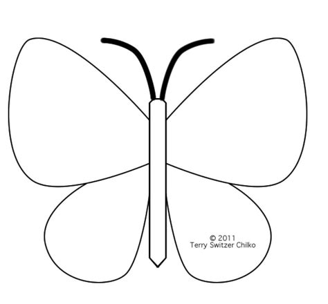 free printable applique templates best photos of printable butterfly patterns printable