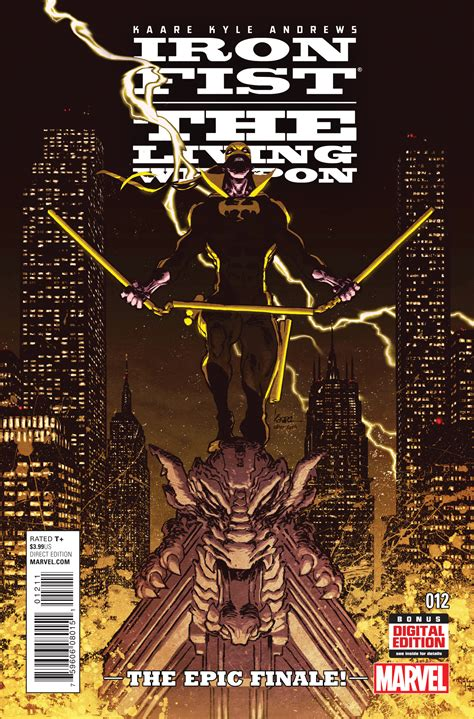 iron fist the living 0785154353 mar150733 iron fist living weapon 12 previews world