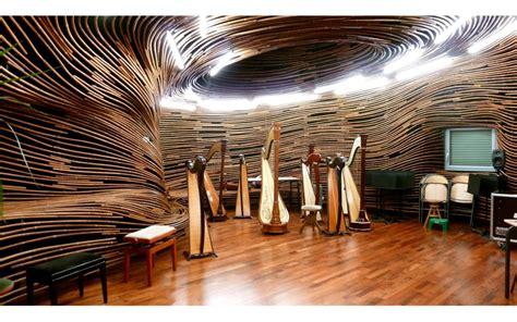 salle de harpe design espace acoustique metalobil