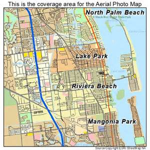 aerial photography map of riviera beach fl florida