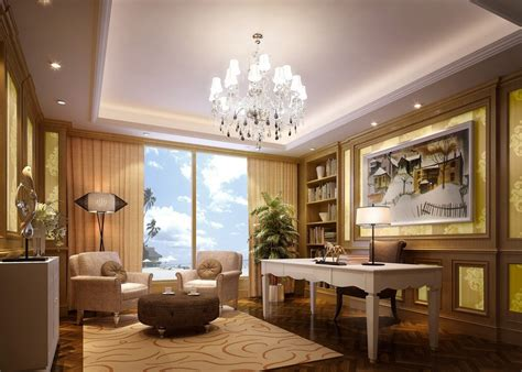 Beautiful Office | beautiful ceo office download 3d house