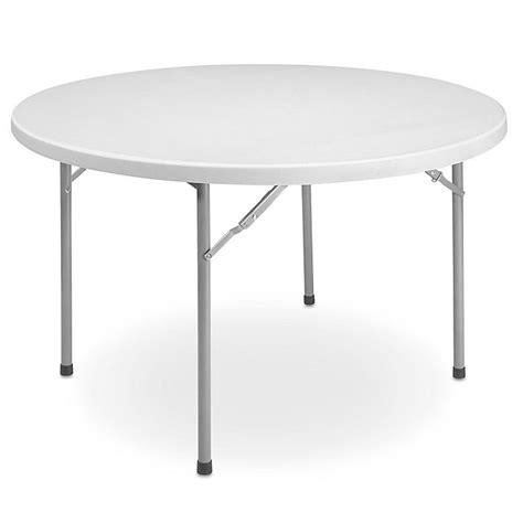 economy folding table  diameter  fol uline