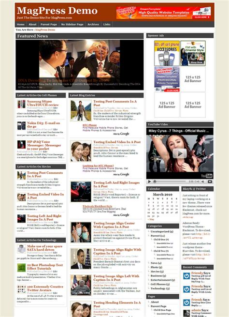 news magazine wordpress theme newshun magpress com