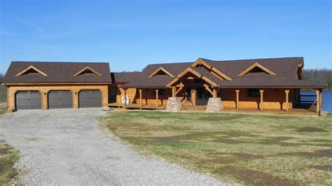 Ranch Style Home Floor Plans by Countrymark Log Homes Countrymark Energy Efficient