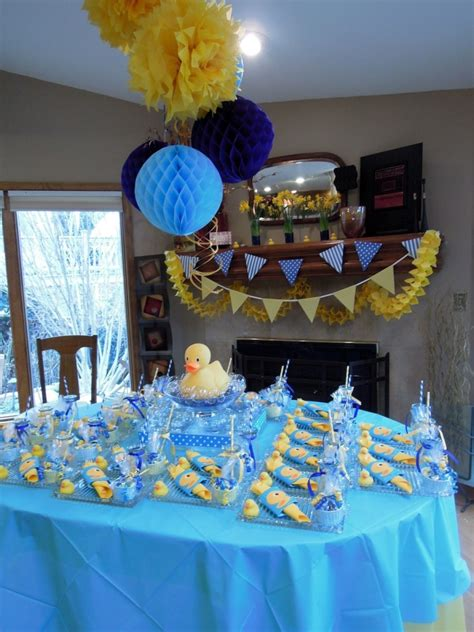 Duck Themed Baby Shower For by Baby Shower Food Ideas Baby Shower Ideas Rubber Duck Theme