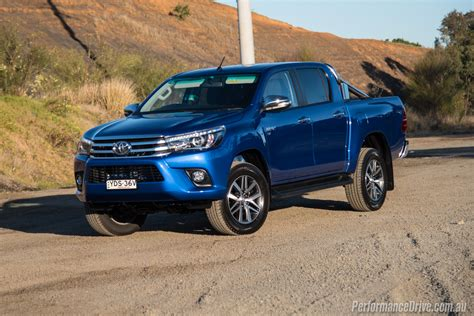 toyota v6 2016 toyota hilux sr5 v6 review video performancedrive