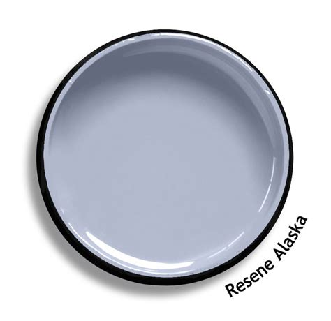 resene alaska is a cool urbane and sophisticated lilac grey blue try resene alaska with poppy