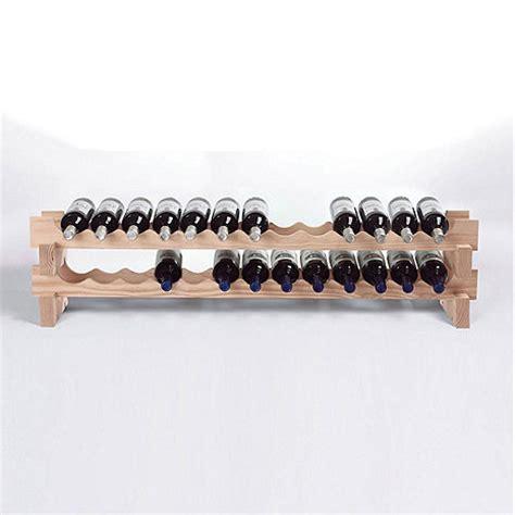 26 bottle stackable wine rack kit wine enthusiast