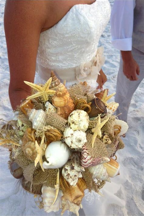 25 best ideas about shell bouquet on wedding bouquets flowers and