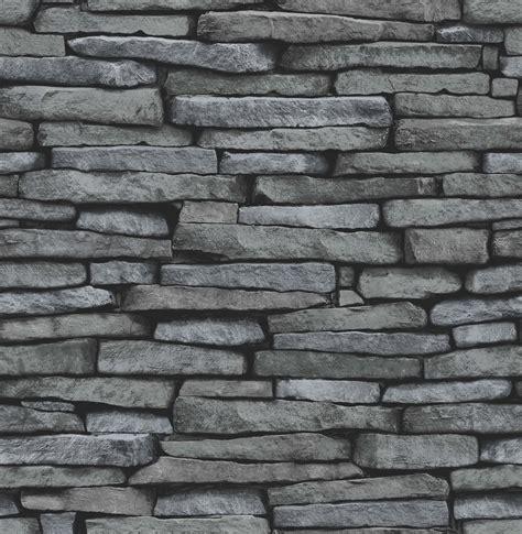 wallpaper grey brick fine decor distinctive slate wallpaper fd31291 silver