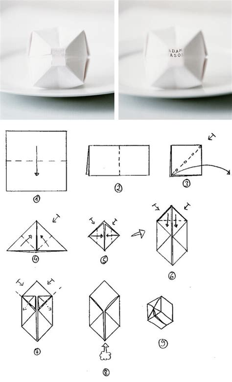 How To Make Origami Balloons - origami balloon place cards pictures photos and images
