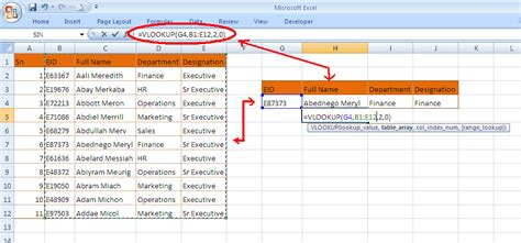 learn basic vlookup learn to use vlookup in excel advanced excel tips tricks