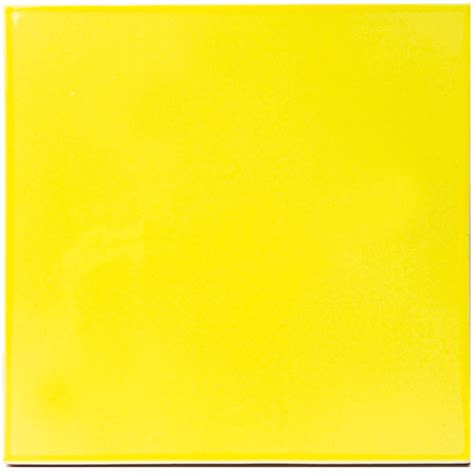 carrelage jaune et noir