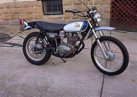 Honda Motorrad Xl 350 R by Honda Xl 350 Honda 350 Xl K3 1977 Honda Cb350 Cb250 Twins