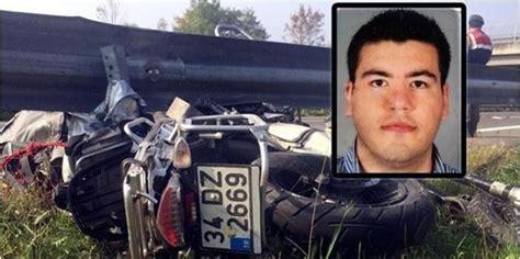 motosiklet kazasinda hayatini kaybeden thy pilotu son