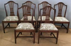 antique mahogany dining room furniture set of 6 antique mahogany dining chairs antique dining
