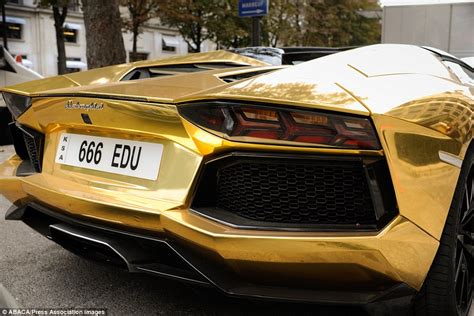 lamborghini car gold gold lamborghini worth 163 4m pictured in could be