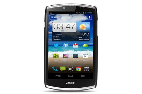 acer mobile phones review acer cloudmobile s500 android phone review the register