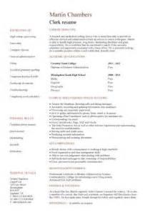 warehouse clerk resume 2