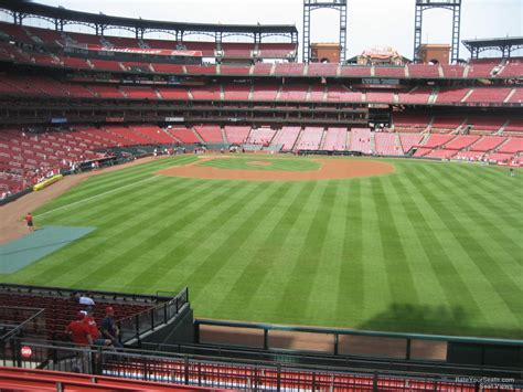 section 509 a 3 busch stadium section 509 seat views seatscore rateyourseats