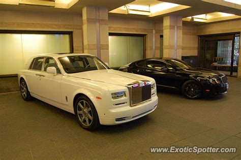 drake rolls royce rolls royce phantom spotted in toronto ontario canada on