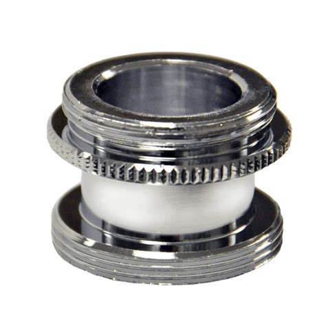 15 16 in 27m x 55 64 in 27m chrome aerator adapter