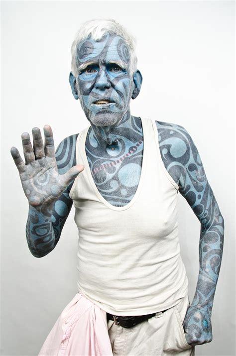 most tattooed man april 7 photo brief pope paul ii sculpture