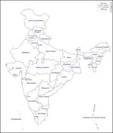 India Map Outline by Free Coloring Pages Of India Political Outline