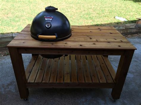 akorn kamado grill table