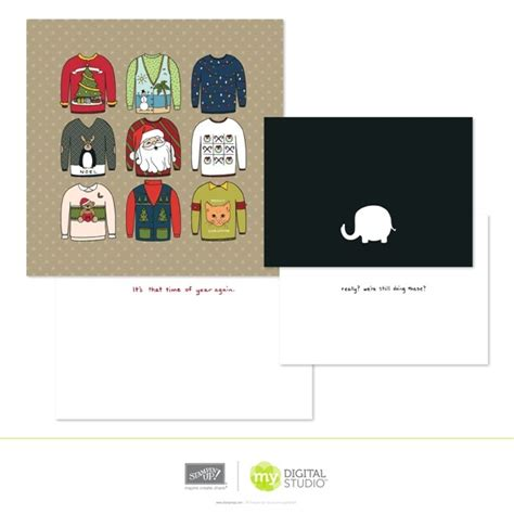 sweater card template new digital downloads it s all about sting