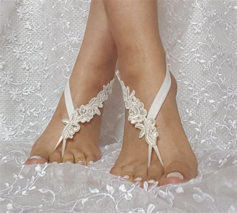 Ivory Bridal Sandals by Bridal Barefoot Sandals 28 Images Bridal Barefoot