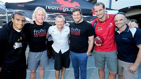 Matt Daly Plumbing queensland reds will genia beau robinson and more cook for charity frogs quest news