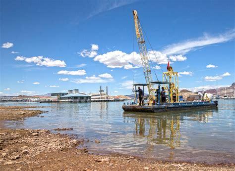 las vegas boat harbor lake mead hits new record low las vegas review journal