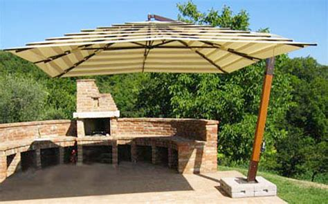 Large Offset Patio Umbrellas Image Gallery Large Patio Umbrellas