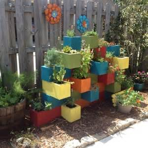cinder block planter ideas for your garden gardens