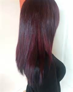 cherry hair color 25 bright black cherry hair color ideas tasty summer hues