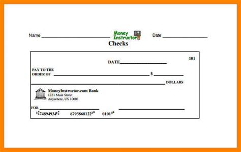 7 Blank Check Templates For Excel Dialysis Nurse Excel Checkbook Template