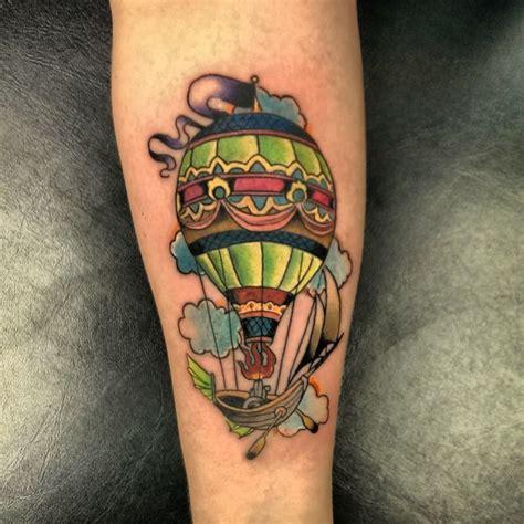 tattoo hot air balloon meaning hot air balloon tattoo hot air balloon pinterest