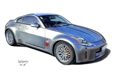 nissan 350z drawing nissan 350z drawing 60879 enews