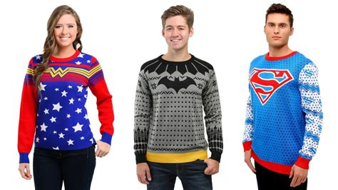 Sweater Supergirl batman and superman take form in dc comics